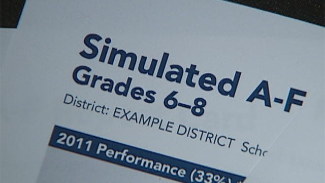 Gov. Fallin, House of Rep. At Odds Over A-F School Grading System