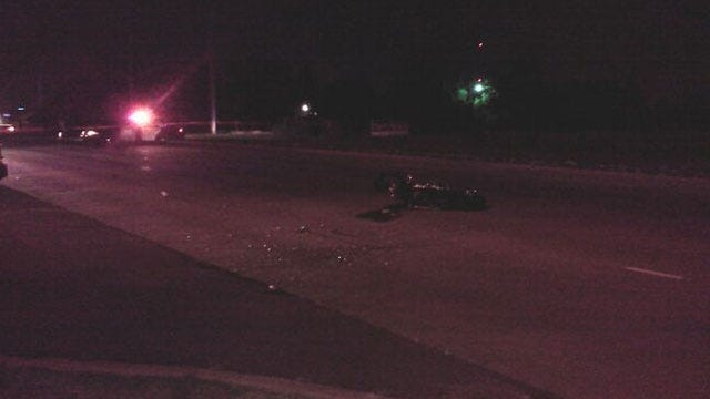 Man In Critical Condition After Motorcycle Accident In Moore