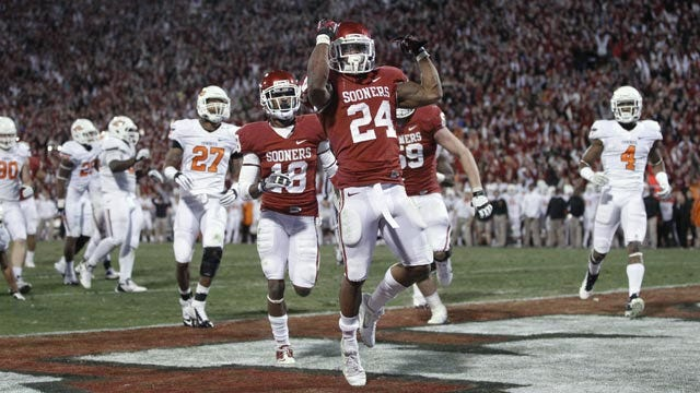 PURE BEDLAM: Oklahoma Wins Wild Overtime Game Over Oklahoma State