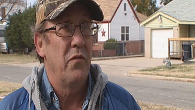 Neighbor Responds To Murder At SW OKC Car Wash