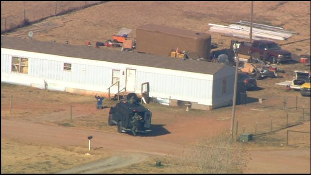 One Person Taken Into Custody During McClain County Standoff