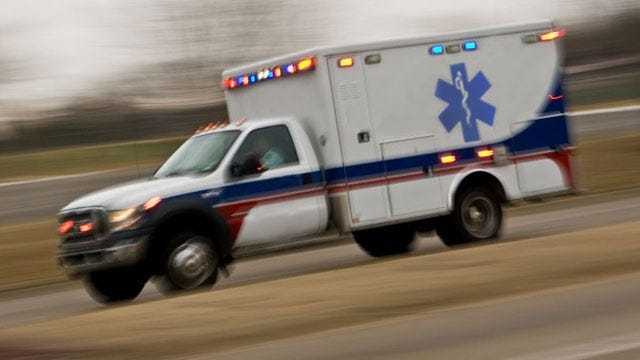 Emergency Responders Conduct Accident Exercise Near Tinker