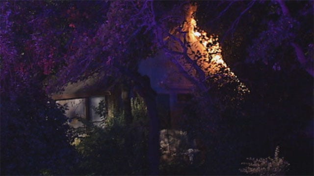 Fire Flares Up Twice At Edmond Home