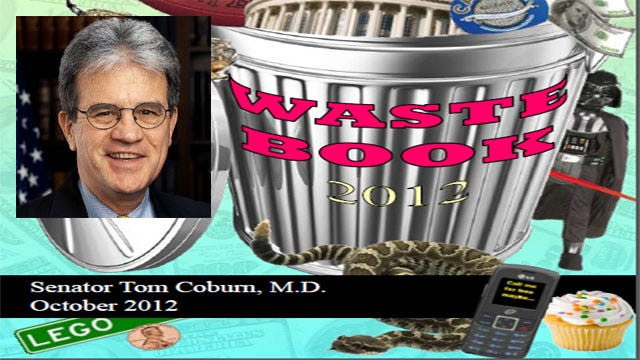 Sen. Coburn Releases $18 Billion Waste Report