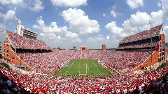 Sooner Fans Asked To Stripe Stadium For Notre Dame Game