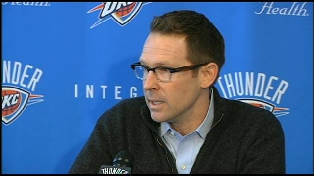 Thunder's Presti Addresses Harden Trade At Press Conference
