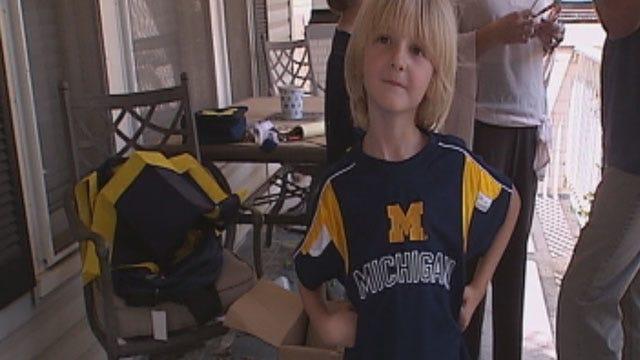 Family Of Michigan Fans Wins Dress Code Battle Against OKC Schools