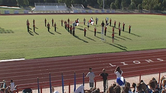 OK High School Bands Perform To Raise Money For Wildfire Victims