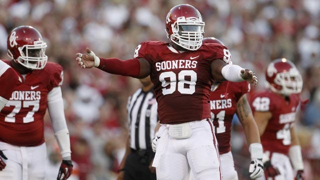 Young Defensive Linemen Learning, Growing For Sooners
