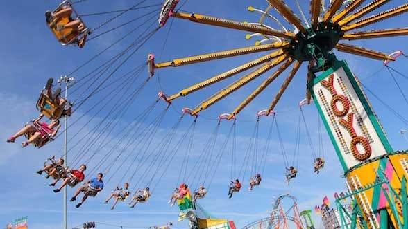 The 2012 State Fair Of Oklahoma Opens Thursday With Rain