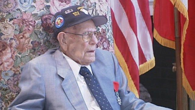Oklahoma WWII Vet Receives France's Highest Honor