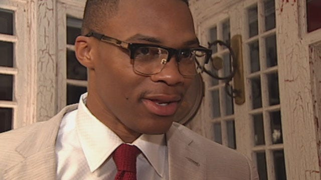 Thunder Star Russell Westbrook Attends Local Fundraiser