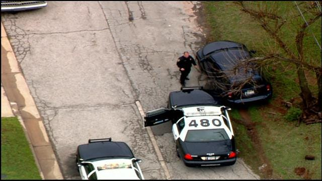 Two Suspects Caught Following Police Chase In NE OKC