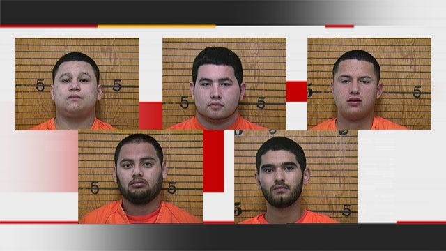 Five Charged With Trafficking Meth After $2.5 Million In 'Ice' Found In NW OKC