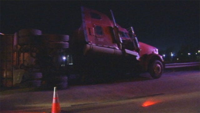 Semi Accident In El Reno Kills Cattle, Shuts Down Westbound I-40