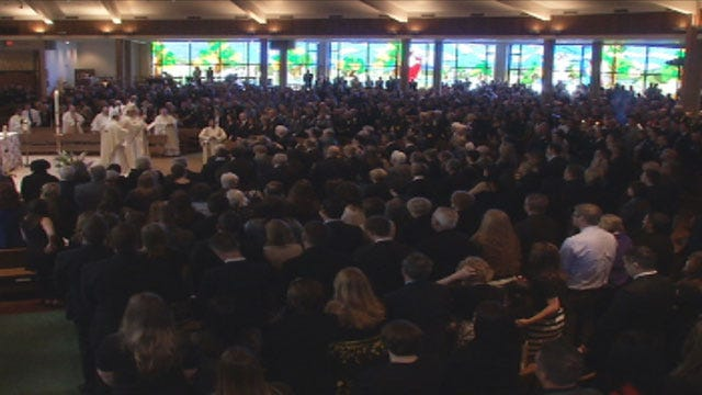 Thousands Attend Funeral Of OKC Police Officer Chad Peery