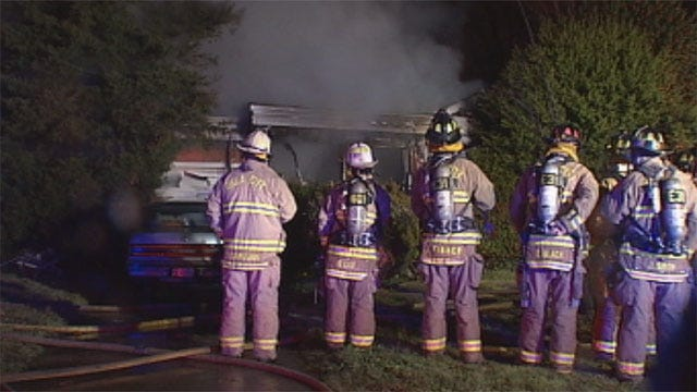 Suspicious Fire Forces Families Out Of Homes In NW OKC