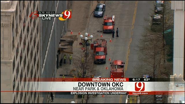 Explosion Reported In Downtown OKC