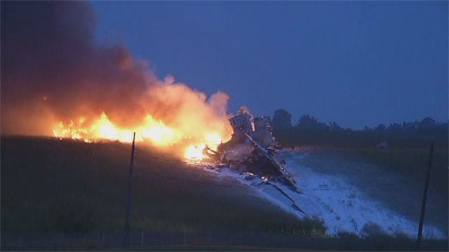 UPS Cargo Plane Crashes In Alabama