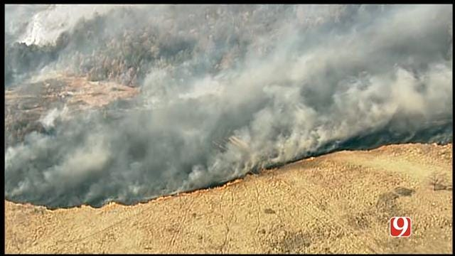 Grass Fire In Lincoln County Contained