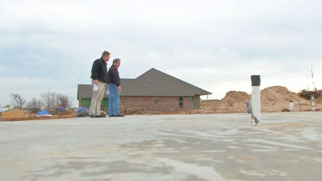 Key Piece Of Home's New Above-Ground Storm Shelter Heads To Moore