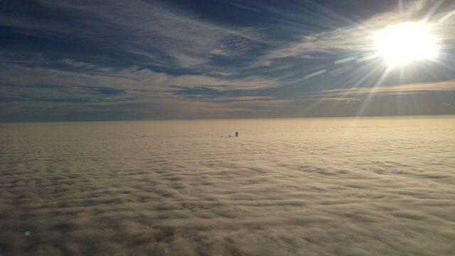 Morning Fog Creates Dangerous Drive, Affects Flights In OKC Metro