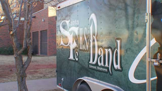 Edmond HS Band Members Heading to London For New Year's Festival