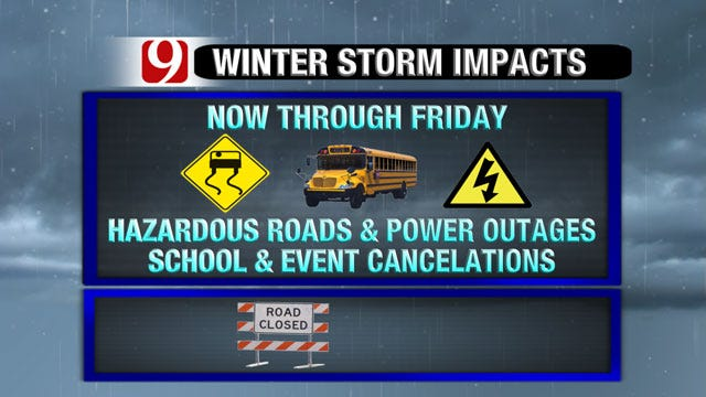 Winter Storm Update: Snow, Ice To Cripple Traffic, Business, Daily Routines
