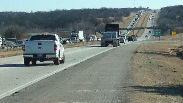 Search For Miniature Horses Plays Role In Crash Along I-40 Near Harrah Road