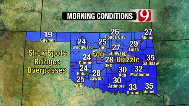 News 9 Weather Team Updates On Snowfall Totals, Morning Conditions