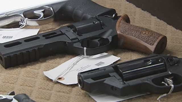 Non-Violent Offender Upset He Can't Own Gun In Oklahoma