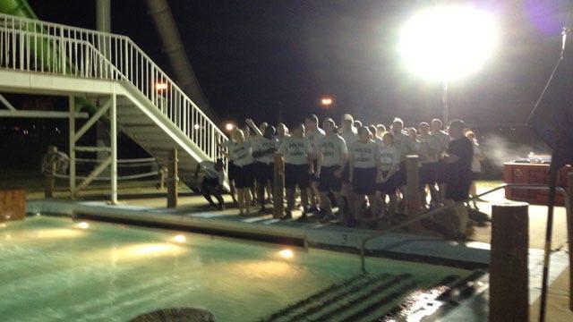 OKC Police Recruits Take 'Polar Plunge' To Raise Money For Special Olympics
