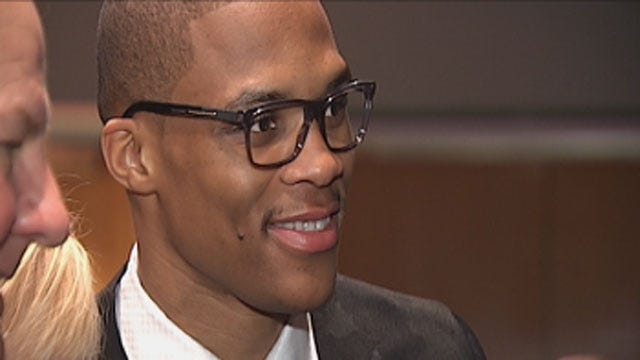 Russell Westbrook Honors Childhood Friend During OKC Heart Ball