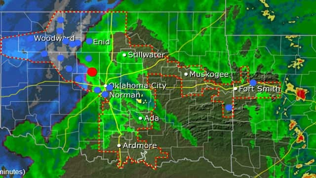 Winter Storm Causing Power Outages In Parts Of Oklahoma