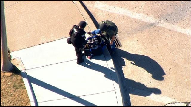 Bomb Squad Finds Clothes In Suspicious Package Near Oklahoma County Jail