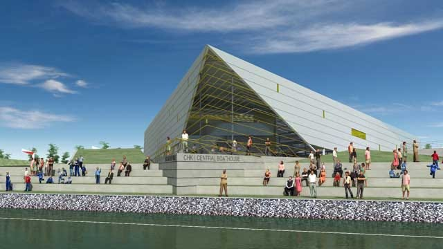 UCO Receives $2.5 Million Gift To Complete Boathouse On Oklahoma River