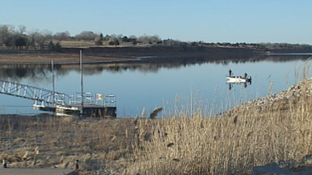 Canton Lake Officials Fear Ramifications Of OKC Water Use During Drought