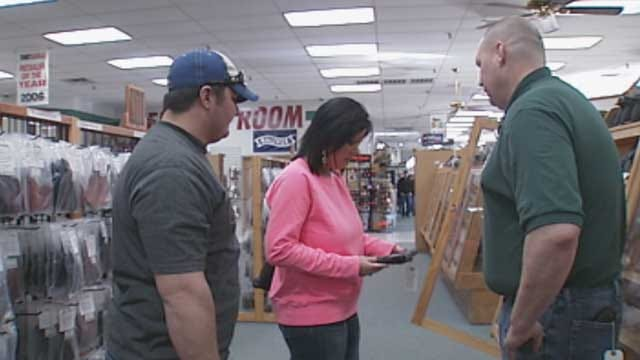 Gun Dealers In Oklahoma Struggle To Keep Up With Demand On Guns, Ammo
