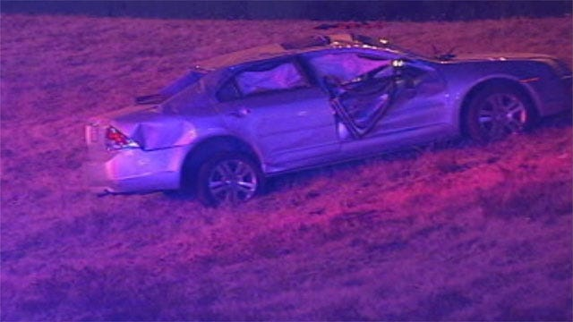 One Suspect Arrested In Possible Road-Rage Crash In Edmond