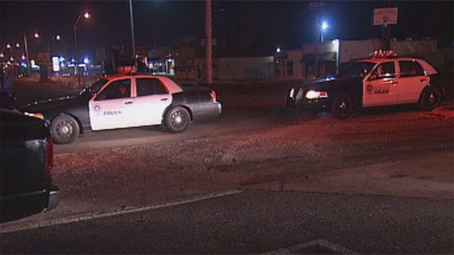 Two Arrested After Police Chase Truck Through OKC