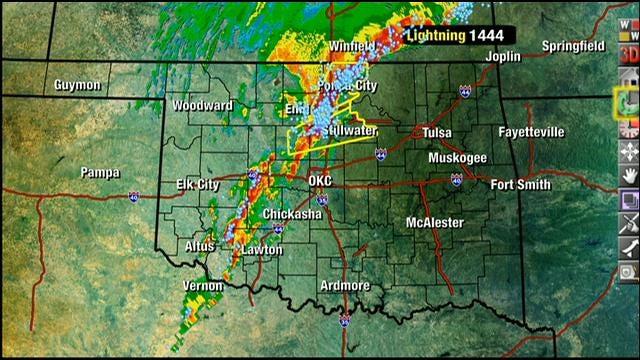 Tornado Watch In Effect In Oklahoma