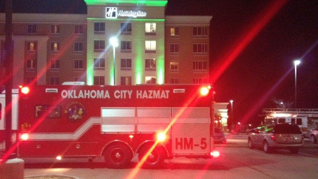 OKC Firefighters Evacuate Hotel For High Levels Of Carbon Monoxide