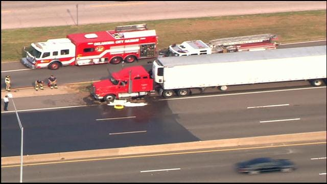 Parts Of I-35 In Northeast OKC Reopened After Chemical Spill