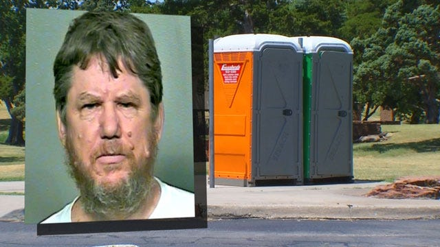 Man Arrested For Allegedly Watching Woman In Porta-Potty At OKC Park