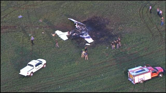 OHP Aircraft Crashes In Pottawatomie County