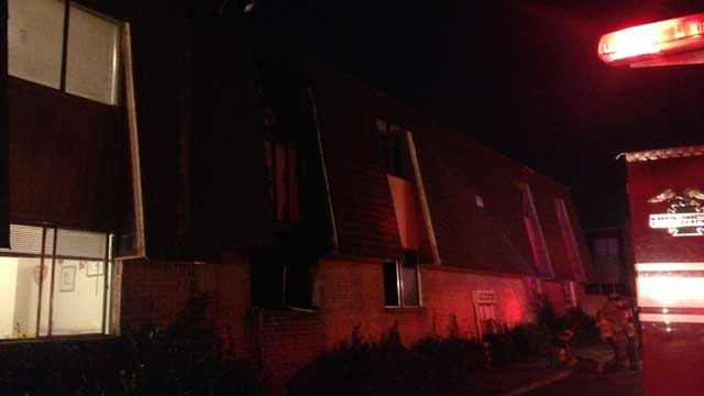 Several Families Displaced After Apartment Fire In Bethany