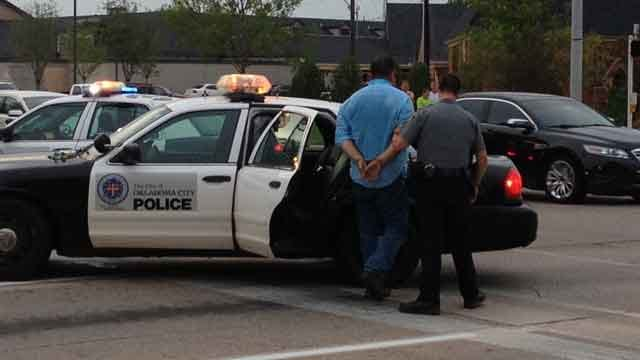 One Arrested After Road Rage Incident In NW OKC