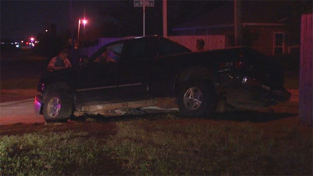 Flat Tires Lead To Police Chase In SW OKC