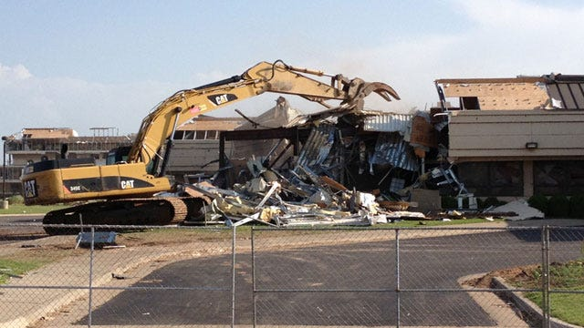 Demolition Begins At Moore Medical Center; Center Will Be Rebuilt