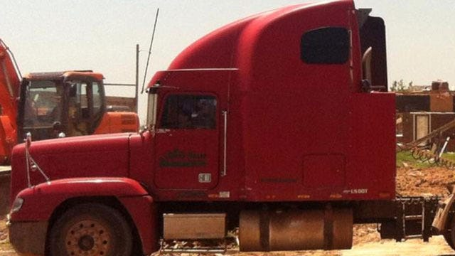 Police On The Lookout For Semi Stolen From Moore Cleanup Site